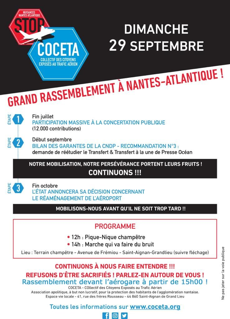 Flyer Mobilisation du 29/09/19